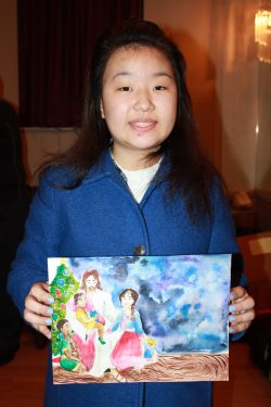 Julia-Jiyoung-Yoo, First Place High School