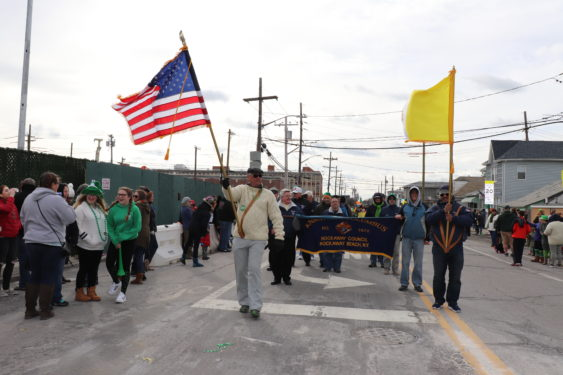 The season of St. Patrick got off to a chilly start March 3 with the 43rd annual Queens County St. Patrick's Day Parade in Rockaway.
