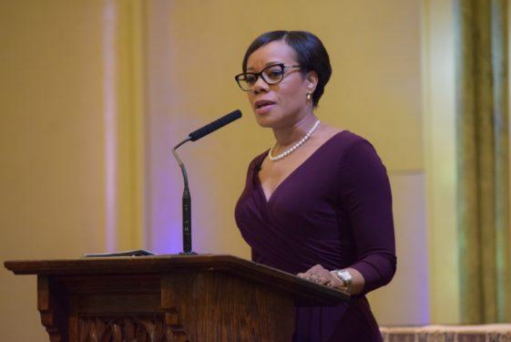 Liz speaks - Womens Professiona Day 2018