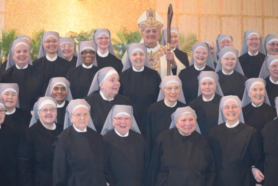 sisters with bishop