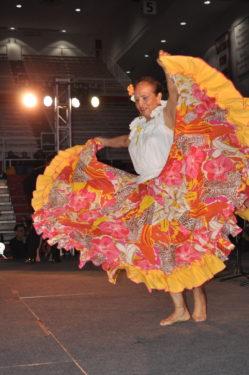 Columbian dancer
