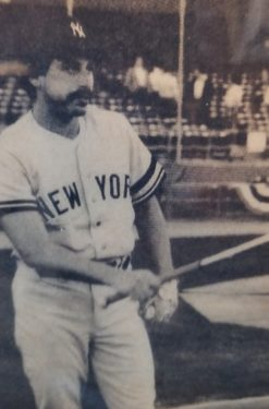 "Brooklyn-born ""Disco Dom"" Scala had his chance to be part of the New York Yankees' World Series championship team as bullpen catcher in 1978. For the last 15 years, he's been head baseball coach at Adelphi University, Garden City, L.I. Photo courtesy Dom Scala"