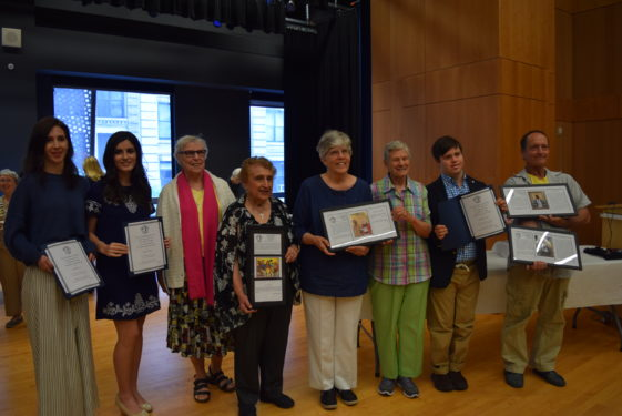 Plowshares Activists with Pax Christi Award winners.