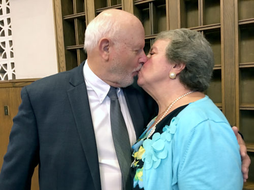 Jim and Sylvia Delaney of St. Gregory the Great, Bellerose