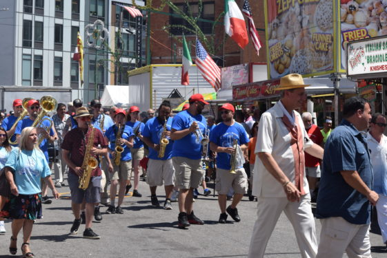 Our Lady of Mount Carmel parish kicked off the 131st Giglio Feast in Williamsburg. Thousands came out for the first Sunday of the feast that runs July 5-16. To honor St. Paulinus