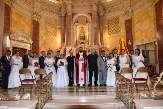 regina pacis wedding