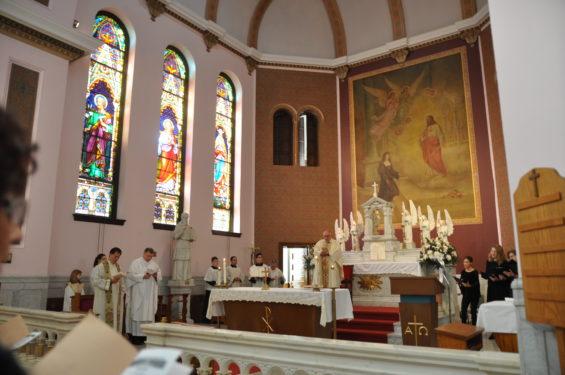 altar scene
