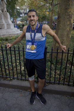 The Tablet's sports writer Jim Mancari ran the N.Y.C. Marathon, finishing in 4:28:19. (Photo by Diana Colapietro)