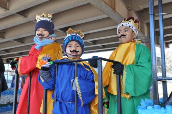 Three little kings