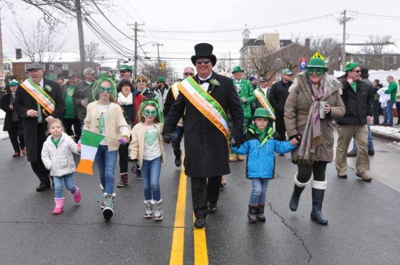 Thomas A. Callahan, above, president and business manager of International Union of Operating Engineers, Local 15, served as Grand Marshal.