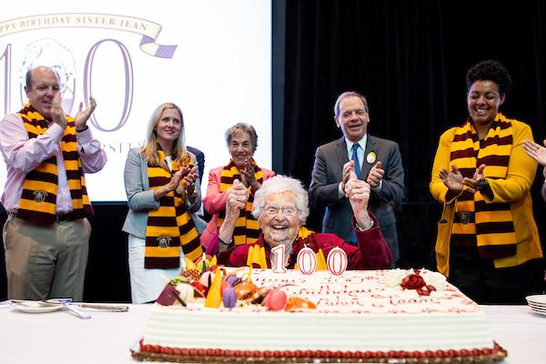 Sister Jean Now 100: Milestone for the Beloved Loyola Hoops Nun