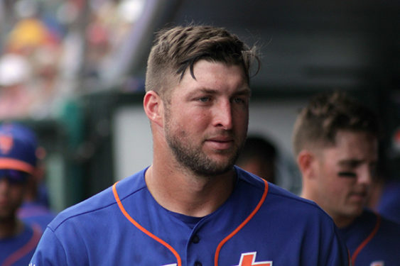 lowest price 375cd d3ca0 Tebow Time' Running Out on the Diamond - The Tablet