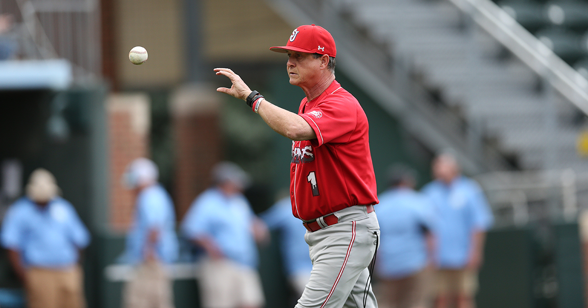 Ed Blankmeyer, who led the St. John's baseball team for 24 seasons, is now the manager of the Brooklyn Cyclones. (Photo courtesy of St. John's Athletic Communications)