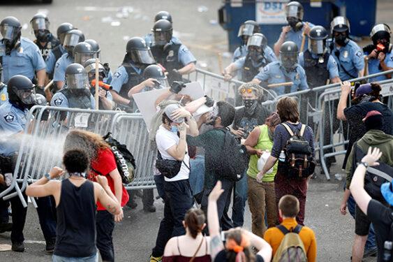 MINNESOTA POLICE RIOTS