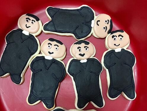 featured priest cookies