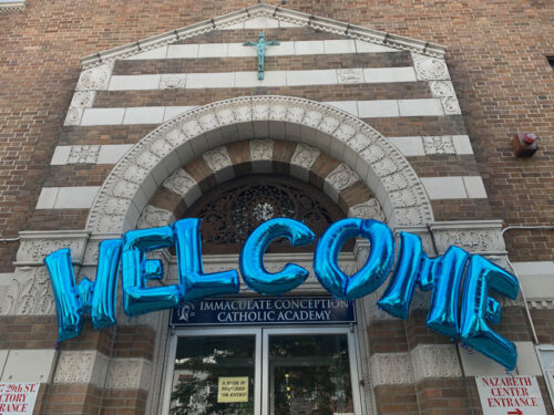 Immaculate Conception Catholic Academy, Astoria. (Photo: Erin DeGregorio)