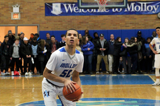 Archbishop Molloy product Cole Anthony was drafted No. 15 overall by the Orlando Magic in the 2020 NBA Draft. (Photo: Credit Joseph Sommo, Archbishop Molloy H.S.)